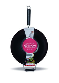 Ken Hom Performance Carbon Black wok - 36 cm
