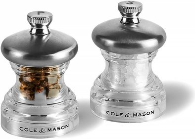 Cole & Mason gift wrapping pepper and salt mill