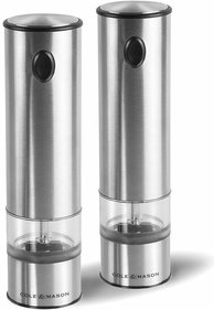 Cole & Mason Red Range electronic pepper and salt mill
