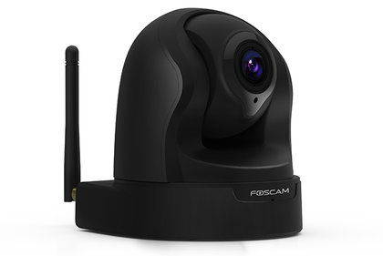 Foscam FI9826P zwarte indoor ip-camera