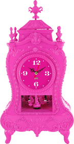 Silly Table Clock Baroque