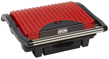 Bestron Hot Red panini grill