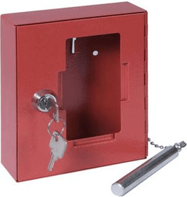 Benton Keybox Emergency key box loose glass