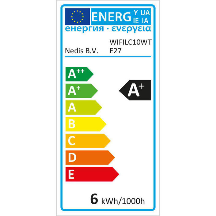 Nedis Smart LED-lamp - Full Colour en Warm-Wit