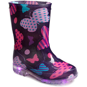Gevavi Mila Rainboots for children with Led Lights