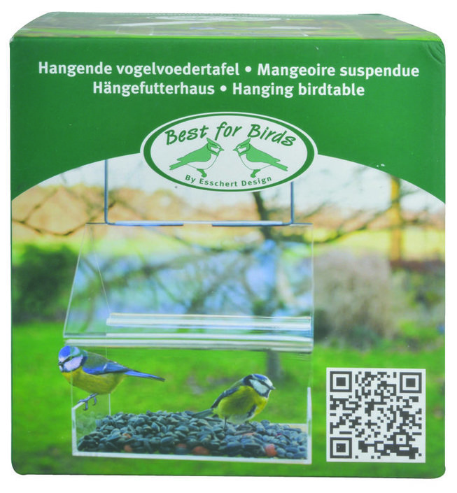 Best for Birds Acryl hangend voederhuis
