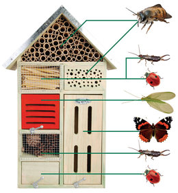 Esschert Design Best for Birds Large Insektenhotel