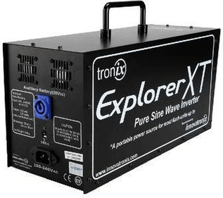 Explorer Battery Pack for lamp heads up 2400WS