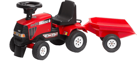 Falk L938B / Baby Red Tractor & Trailer
