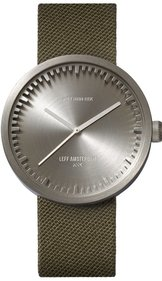 LEFF amsterdam Tube Watch Stahl D42 Uhr
