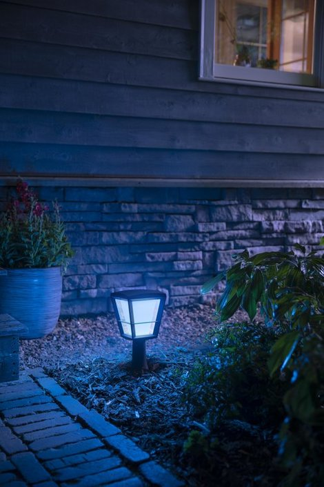 Philips Hue Outdoor Econic Small sokkellamp