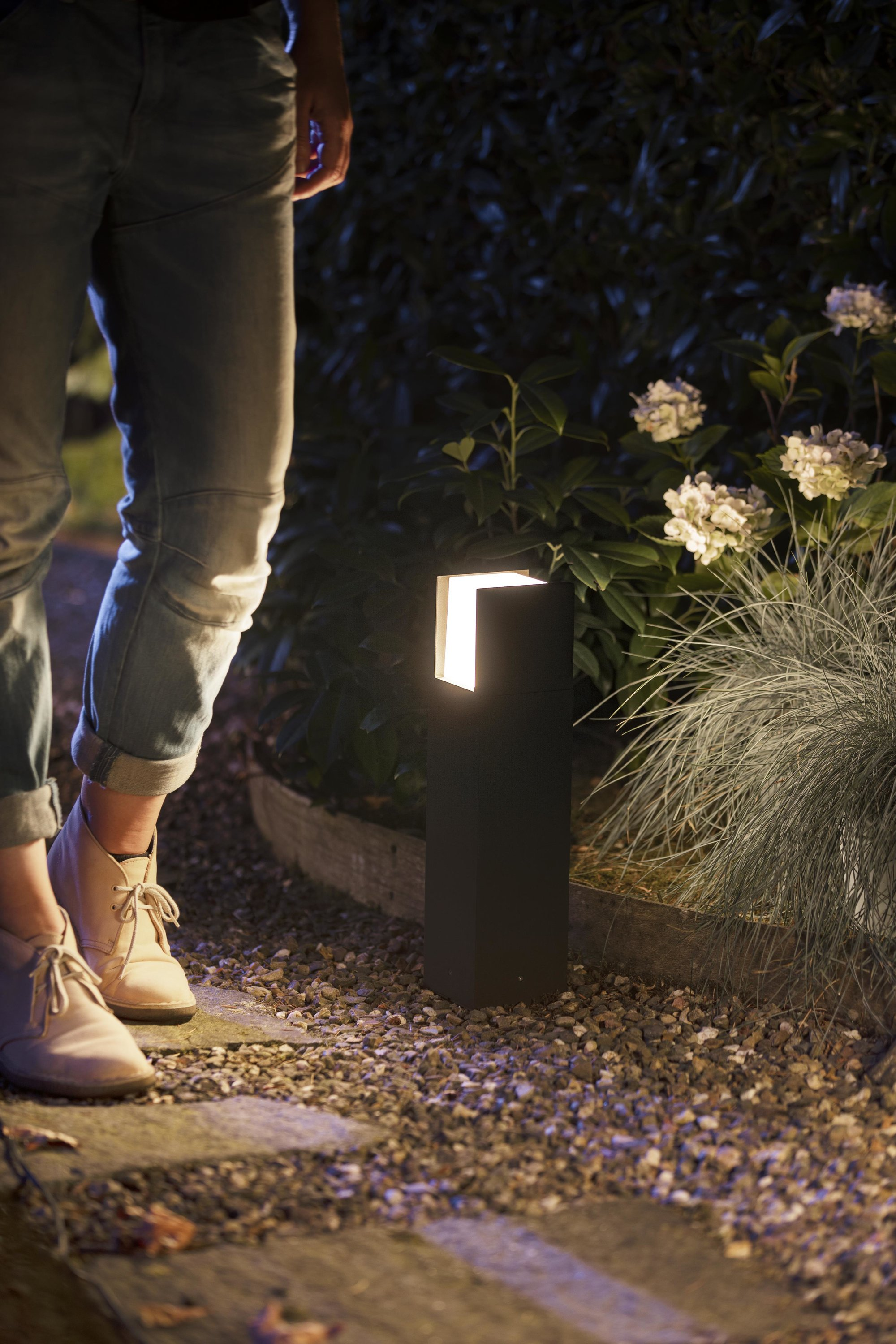 Philips Hue Outdoor Fuzo Small sokkellamp