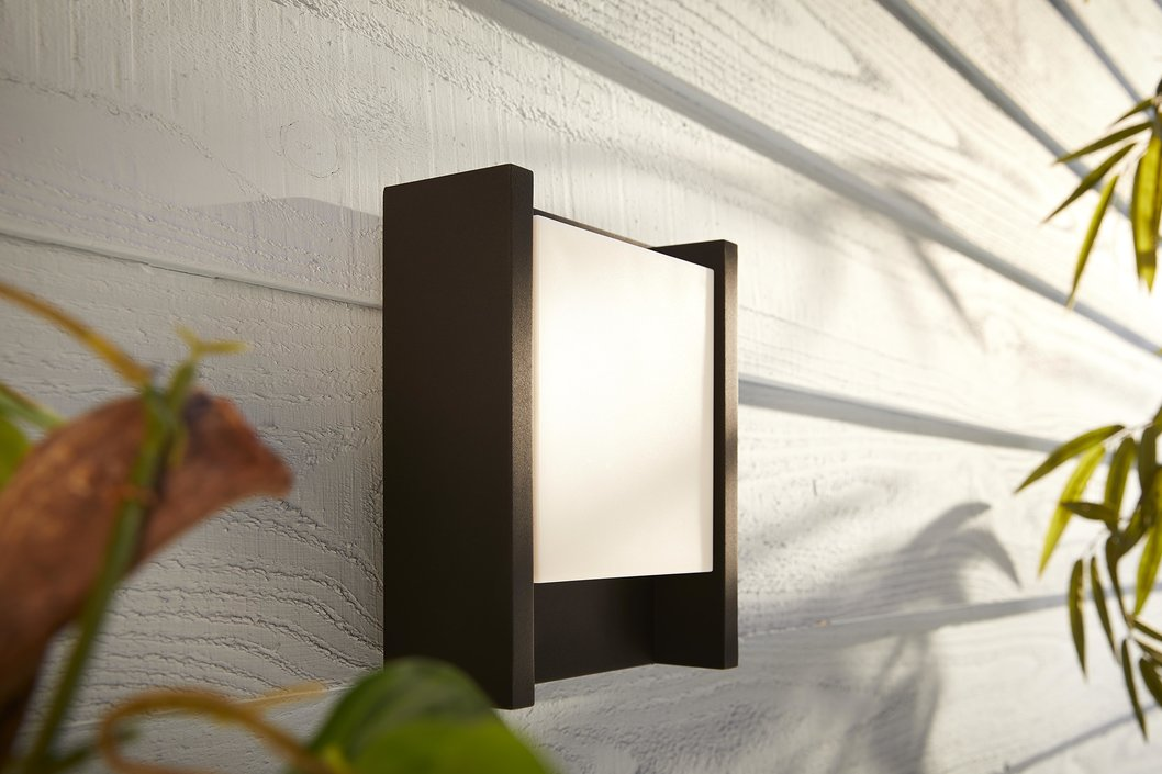 Philips Hue Outdoor Fuzo Large muurlamp