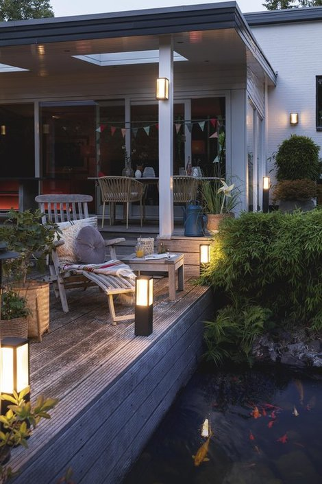 Philips Hue Outdoor Impress Large sokkellamp