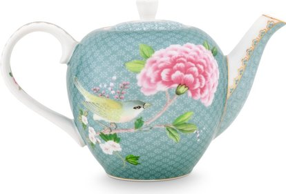 Pip Studio Blushing Birds 750ml theepot
