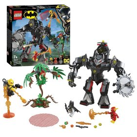 LEGO Super Heroes Batman Mecha gegen Poison Ivy Mecha - 76117