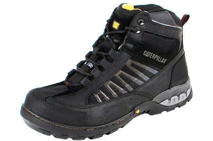 Caterpillar Kaufman black work shoes