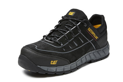 Caterpillar Roadrace black work shoes