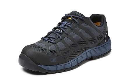 Caterpillar Streamline dark blue work shoes
