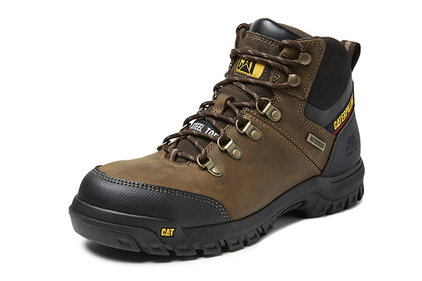 Caterpillar Herren Framework brown work shoes
