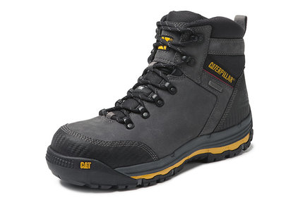 Caterpillar Munising gray work shoes