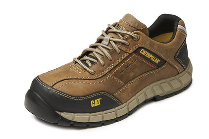 Caterpillar Streamline brown work shoes
