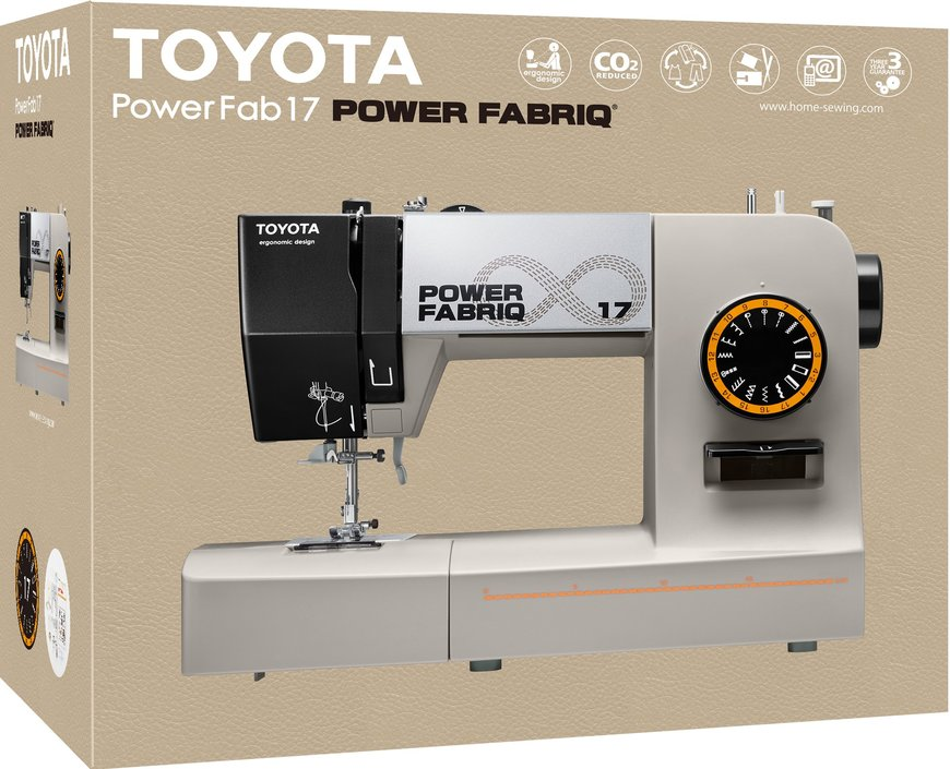 Toyota Power Fabriq 17