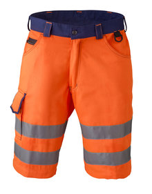 HaVeP 8703 High Visibility korte werkbroek