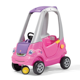 Step2 Easy Turn Coupe loopwagen roze