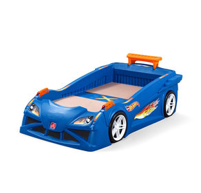 Step2 Hot Wheels Race Car bed