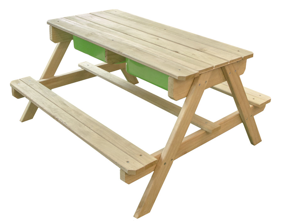 Dual Top Table Zand & Water Picknicktafel
