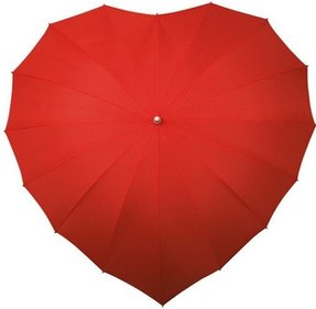 Impliva heart umbrella