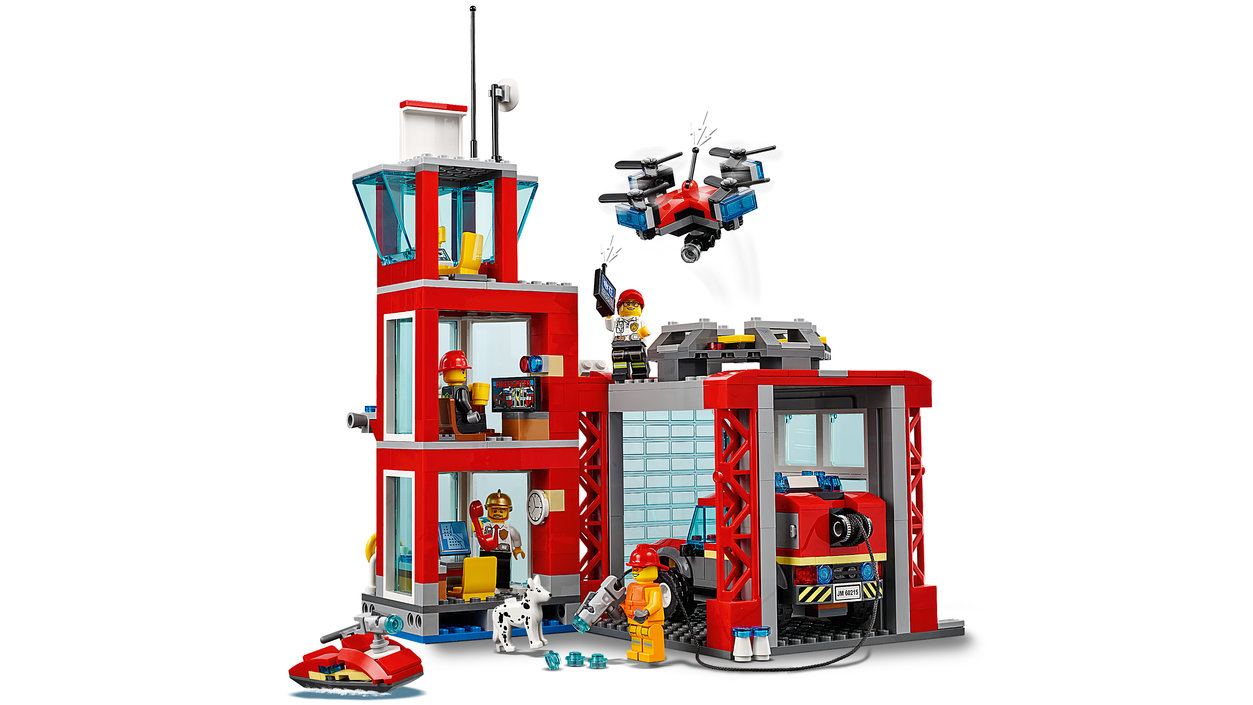 Want to buy LEGO City Fire Station - 60215?