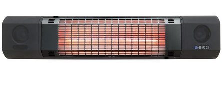 Sunred Sun & Sound wall heater