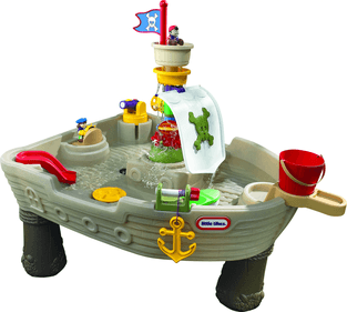 Little Tikes Water table Pirate boat