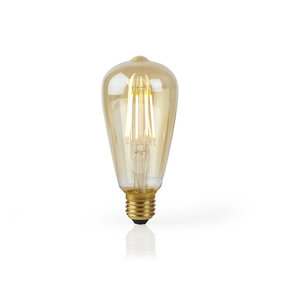 Nedis Wi-Fi Smart LED-Lamp E27 - Goud