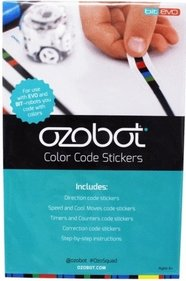 Ozobot Color Code stickervel