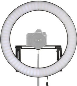 Falcon Eyes Bi-Color LED Ringlamp Dimbaar DVR-512DVC