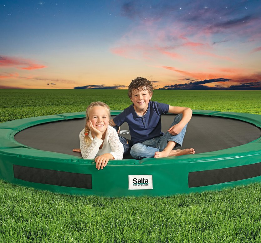 Salta Excellent Ground trampoline rond