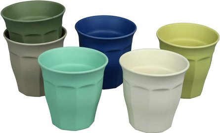 Zuperzozial Cupful Of Colour kop - set van 6