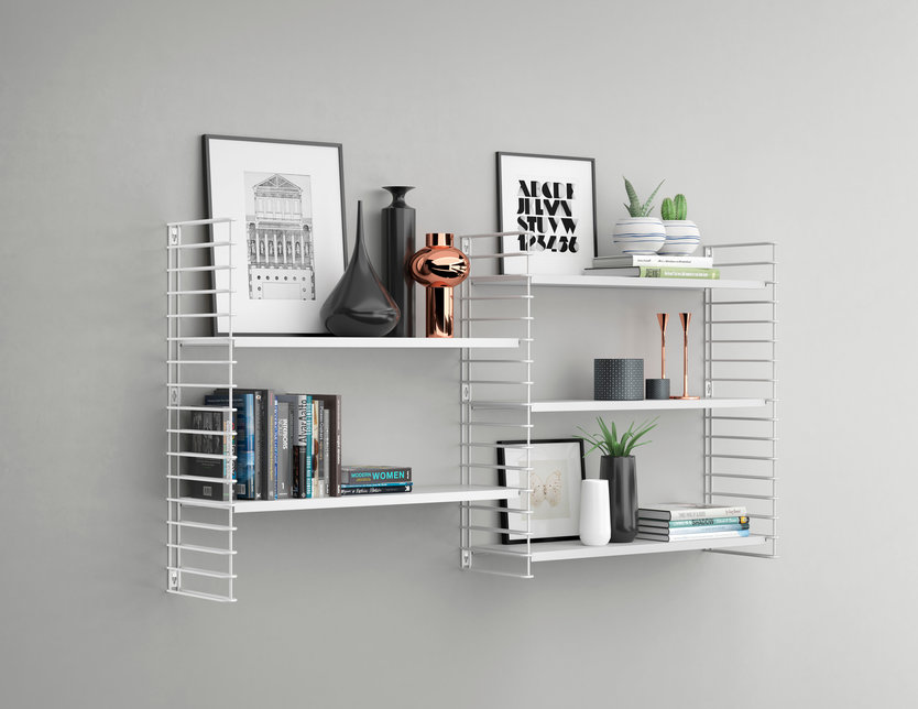 Tomado frame + 2 shelves bookshelf extension
