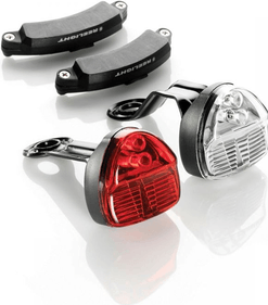 Reelight SL100 Bicycle Safety Lights - no batteries required