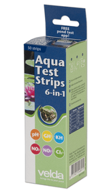 Velda Aqua Test Strips 6 in 1