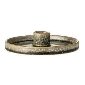 Bloomingville stoneware candle holder