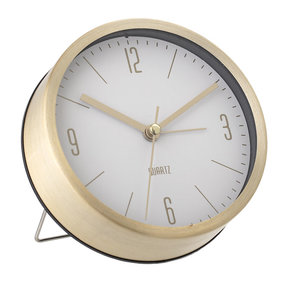 Horloge de table en aluminium Bloomingville