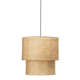 Suspension Bloomingville en bambou