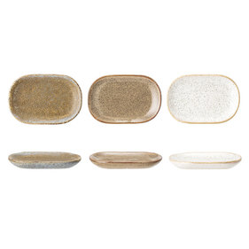 Bloomingville Addison plate 9.5 cm - set of 3 pieces