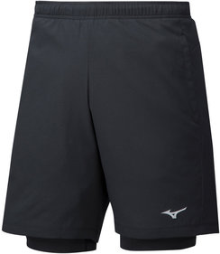 Mizuno Impulse 7.5 2in1 shorts heren
