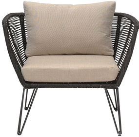Bloomingville Mundo Lounge chair zwart