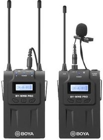 Boya BY-WM8 Pro-K1 UHF Duo Lavalier Funkmikrofon-Set